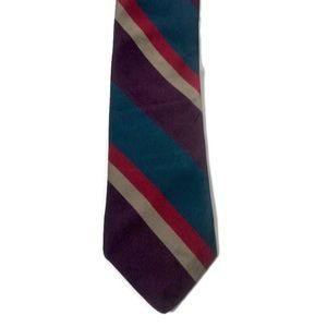Vintage ABERCROMBIE & FITCH Silk Striped Tie